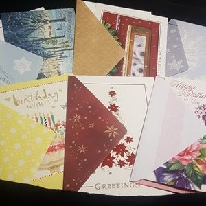 Other - 40 Assorted Cards Birthday/Holiday